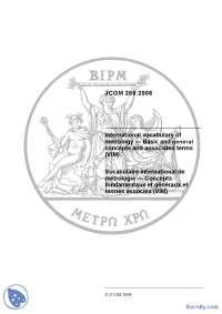Vocabulary of metodology-Skripta-Elektrometrologija-Elektrotehnika i racunarstvo