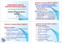 Osnovna logicka kola-Slajdovi-Programabilna logicka kola-Elektrotehnika i racunarstvo