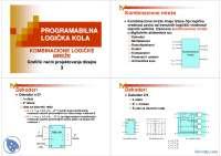 Kombinacione mreže-Slajdovi-Programabilna logicka kola-Elektrotehnika i racunarstvo