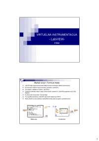 Virtuelna instrumentacija LabVIEW-Slajdovi-Merni informacioni sistemi-Elektrotehnika i racunarstvo (2)