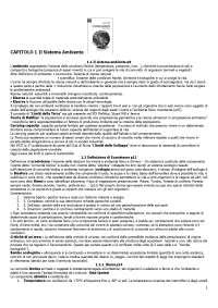 Gestione ambientale - Gobbi - Appunti - Gestione della produzione ambientale