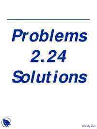 Solutions - Computational Methods - Lecture Slides