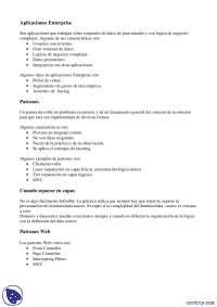 Patrones Web - Apuntes - Arquitectura Web