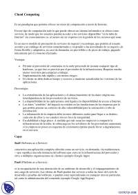 Cluod computing - Apuntes - Arquitectura Web