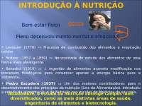 Introdução Nutrição - Apostilas - Nutrição