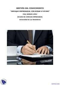 Gestión del Conocimiento - Texto - Administración del conocimiento