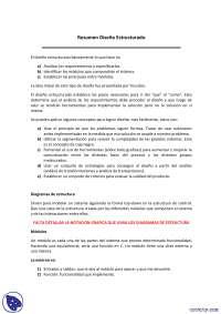 Diseño Estructurado - Apuntes - Diseño de Sistemas
