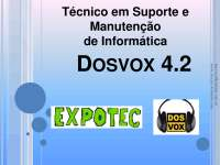 Dosvox 4.2 - Apostilas - Audiovisual