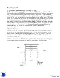 Behavioral - Theory and Design of Computers - Assignment