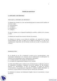 Teoría de Sistemas - Apuntes - Sistemas de informacion I