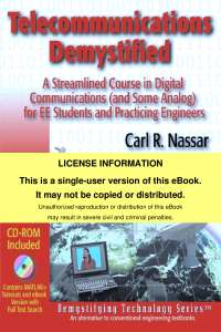 Telecommunications Systems Demystified - A Course in Digital, Analog Communications and Switching Principles for EE students