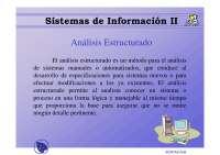 Análisis Estructurado - Apuntes - Sistema de Información II