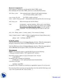 Change Directory - Theory and Design of Computers - Assignment