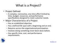 Modern Project Management - Technical Communication - Lecture Slides