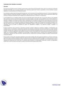 Fundamentos del desarrollo sostenible - Apuntes - Gestión ambiental
