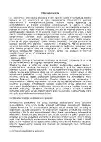 Mikroekonomia - Notatki - Ekonometria