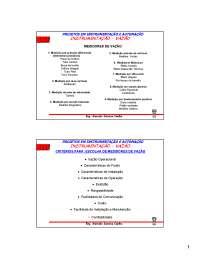 Medição de Vazão - Apostilas -  Automação Industrial