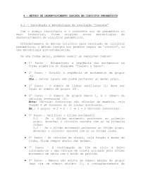 Método Cascata - Apostilas - Eletromecânica