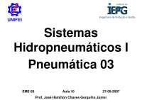 Pneumatica Metodo Intuitivo e Metodo Cascata - Apostilas - Eletromecânica