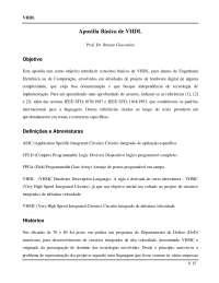 VHDL - Apostilas - Telemática.