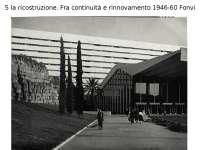 Architettura italiana del secondo dopoguerra 1946-60 - Profilo di architettura italiana
