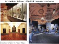 Architettura italiana 1960-80 il miracolo economico - Profilo di architettura italiana del 900.