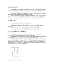 Medidores de Vazão I - Apostilas - Engenharia Mecânica