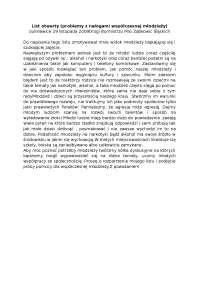 Problemy z nałogami współczesnej młodzieży, list otwarty - Notatki - Komunikacja społeczna