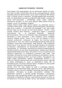 Legitymizm fanatyków, maoistów - Notatki - Komunikacja społeczna