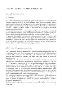 Riassunto - Diritto-Amministrativo-II - LEZIONI-DI-GIUSTIZIA-AMMINISTRATIVA - Travi