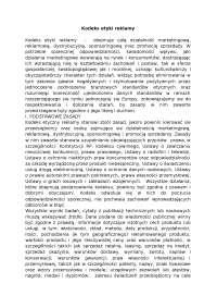 Kodeks etyki reklamy - Notatki - Reklama