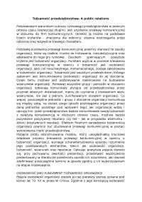 Tożsamość przedsiębiorstwa - Notatki - Reklama