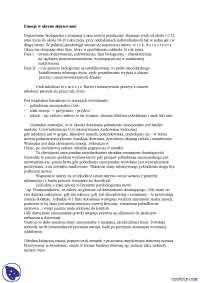 Emocje w okresie dojrzewania - Notatki - Psychologia