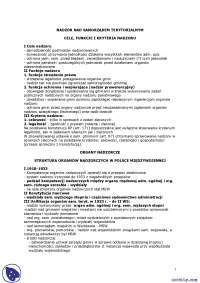 Cele, funkcje i kryteria nadzoru - Notatki - Prawo administracyjne