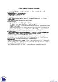 Formy demokracji bezpośredniej - Notatki - Prawo administracyjne
