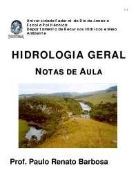 Hidrologia - Apostilas - Engenharia Ambiental_Part1
