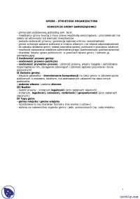 Koncepcja gminy samorządowej - Notatki - Prawo administracyjne