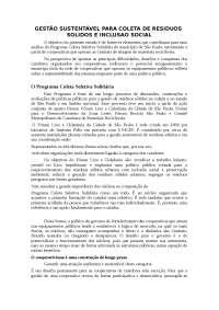 Gestão sustentável - Apostilas - Engenharia Ambiental
