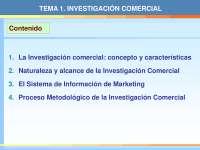 investigacion comercial