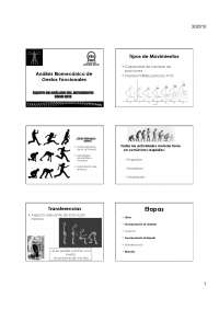 Control postural - Apuntes - Analisis de Movimiento - Parte1