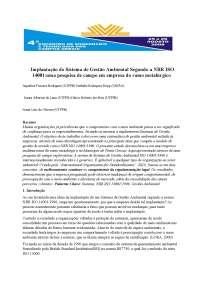 Sistema de Gestão Ambiental - Apostilas - Engenharia da Qualidade