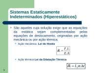 Sistemas Estaticamente Indeterminados - Apostilas - Engenharia de Controle