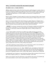 Funciones y figuras del documento literario - apuntes - Literatura