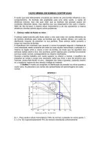 Vazão Mínima - Apostilas - Engenharia de Manutenção