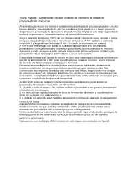 Troca Rápida - Apostilas - Engenharia de Gestão Industrial