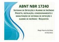 ABNT NBR 17240 - Apostilas - Engenharia de Telecomunicações