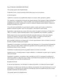 Paisajes agrarios españoles - apuntes - Geografía de España