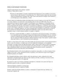 Paisajes vegetales en España - apuntes - Geografía de España