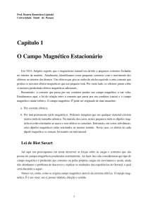 Campo Magnético Estacionário - Apostilas - Engenharia Elétrica