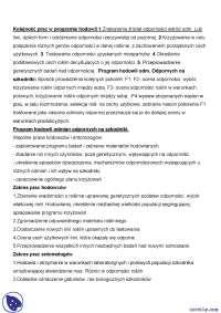 Kolejność prac w programie hodowli - Notatki - Hodowla odpornościowa